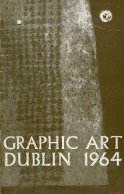 Cover of exhibition guide (Cover Patrick Hickey; Designer Jan de Fouw; Printer Dollard Printinghouse, Dublin)